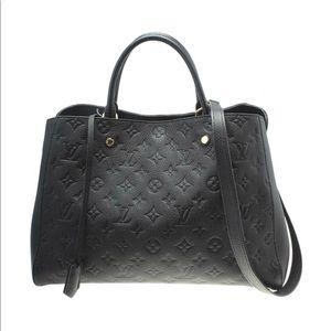 💯% Authentic Louis Vuitton Empreinte Montaigne GM